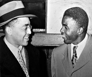 Wendell Smith and Jackie Robinson - greatblackheroes.com